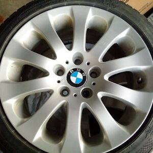 BMW Factory Rims and Tires with Excellent Tread! Kitchener / Waterloo Kitchener Area image 5