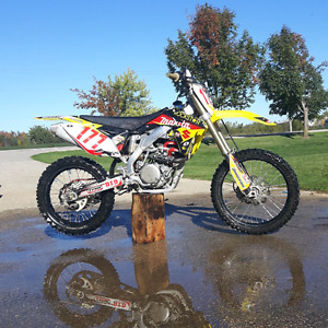 Replica Rockstar/makita/suzuki graphics kit