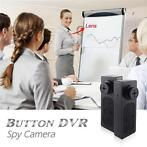 Spy knoop button mini HD camera dv voice recorder 720x480...
