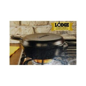 Lodge 2pc Cast Iron Combo Cooker