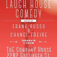 Laugh House: Moving to Tuesday's Party!