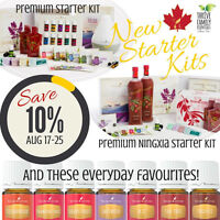 Young Living NEW Premium Starter Kits SALE!!!