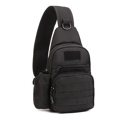 US Molle Tactical Sling Chest Bag Assault Pack Messenger Shoulder Bag Backpack