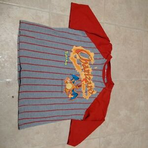 Boys Size 6/7 3/4 sleeve Pokémon Charizard T-shirt