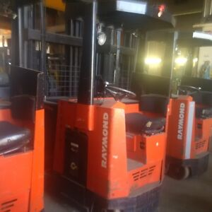 2005 Ramond 035-SCR Battery Powered Fork Lifts
