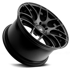 "WHEEL & TIRE SET-PORSCHE -20"" RUGER MESH MATTE BLACK"