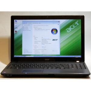 "Acer Aspire 5349 Laptop i5 Webcam 4GB RAM 160GB WiFi 15.6"" HDM"