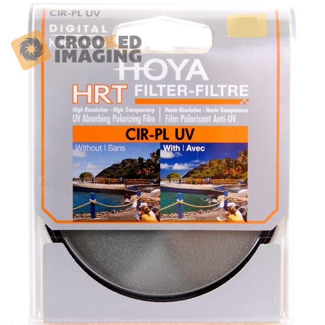 Hoya HRT Digital 82mm 82 Circular Polariser & UV Camera Lens Filter - UK Stock