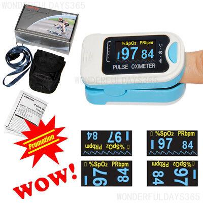Contec Oled Pulse Oximeter Blood Oxygen Monitor Spo2 Pr Hr Cms50na Fda Us Stock