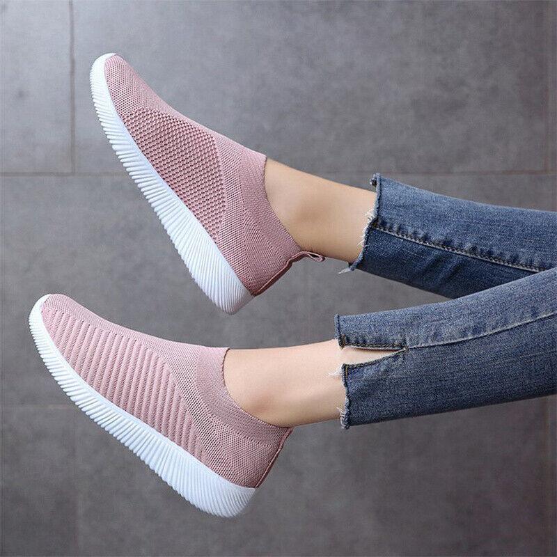 Vionic Hydra Slip On Mesh Orthaheel AMS Shoes Light Blue NEW Womens Size 8.5