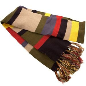 4th Doctor WHO Official Licensed DELUXE 6' SCARF Costume Prop REPLICA Tom Baker