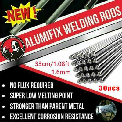 30pcs Aluminum Wire 33cm1.08ft Solution Welding Flux-cored Rods Brazing