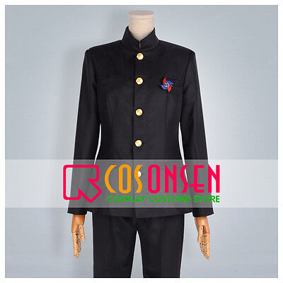 Cosonsen Anime Another Yomiyama North Middle School Male Uniform Cosplay Costume](Male Anime Costume)