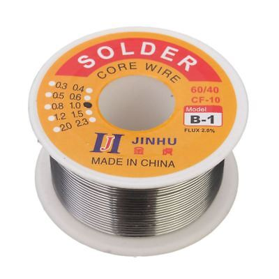 Jinhu 1mm 100g Solder Wire Tin Lead 6040 Flux 2.0 Rosin Soldering Core C2a8