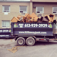 Local Junk Removal in Kingston. 613-929-2929