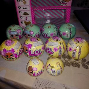 Lol Surprise Series 2 and 3 Lil Sisters and Confetti Pop BNIB