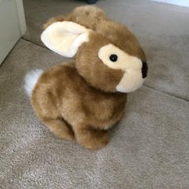 """Soft 10"""" Cuddly Bunny."""