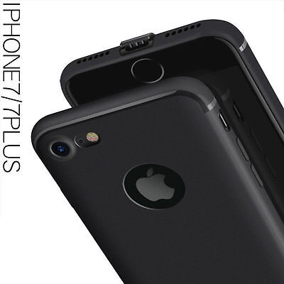 """For """"Apple iPhone 6/6S"""" Candy Slim Soft Silicone Matte Back Case Cover - Black for sale  DELHI"""