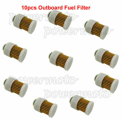 10PCS OUTBOARD FUEL FILTERS FOR <em>YAMAHA</em> 68V 24563 00 00 MERCURY 881540