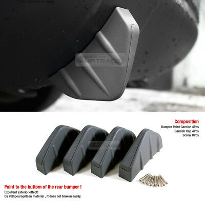 Bumper Diffuser Molding Point Cover Decorative Valence Chin Gray for DODGE Car