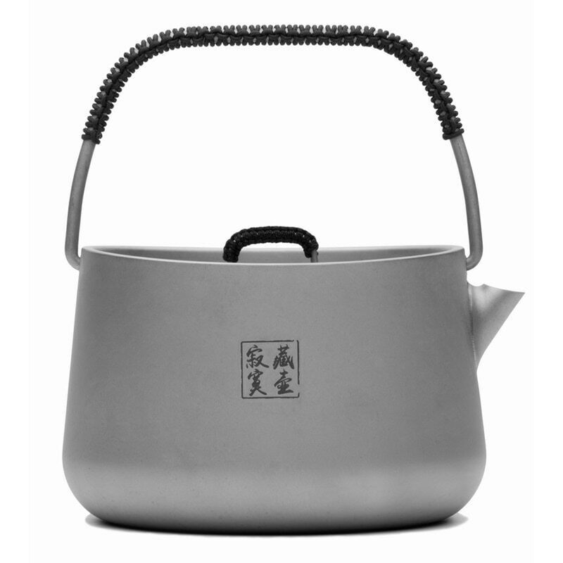 Fire-Maple Titanium Camping Kettle Outdoor Coffee Teapot Picnic Cookware 185g 1L