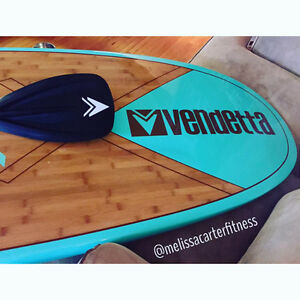 Brand New Bamboo Stand Up Paddle Boards Peterborough Peterborough Area image 1