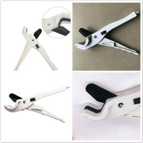 Tube Hose Plastic PVC Plumbing Plier Pipe Cutter Cutting Scissors  Q