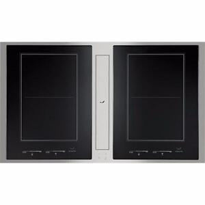 Plaque de cuisson à induction de 36'', Vitrocéramique, Stainless, Jenn-air