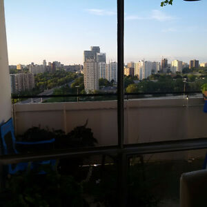 All-In 2 Bed, 1 Bath penthouse suite at Don Mills & Sheppard