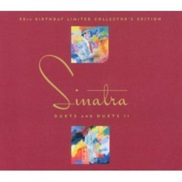 FRANK SINATRA - DUETS & DUETS II-WITH W.NELSON 2 CD 28 TRACKS AMERICAN POP NEU