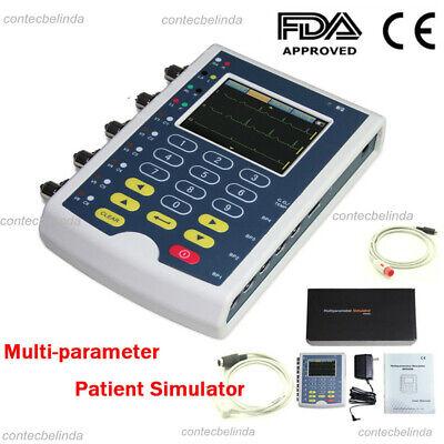 Contec Usa Multi-parameter Patient Simulatorecg Simulator Touch Screen Fedex