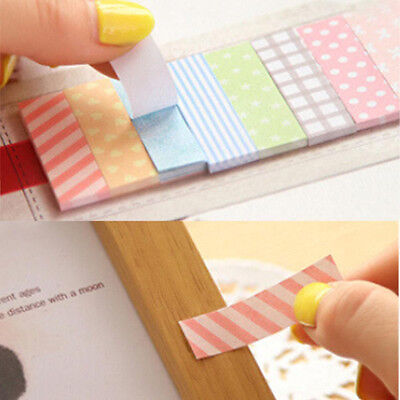 160 Pages Sticker Flags Bookmark Marker Diary Notepad Sticky Notes