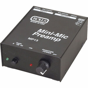 Mini Preamp Rolls MP13
