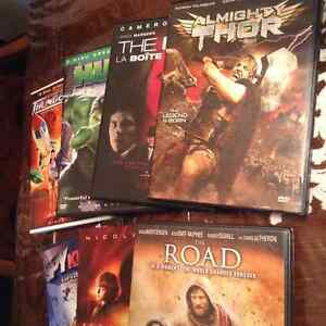8 DVDs for sale