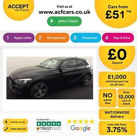 BMW 118 1.6 ( 170bhp ) Sports Hatch 2013MY i Sport FROM £51 PER WEEK!