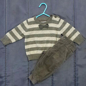 4 fall/winter outfits for baby boy size 3-6 months