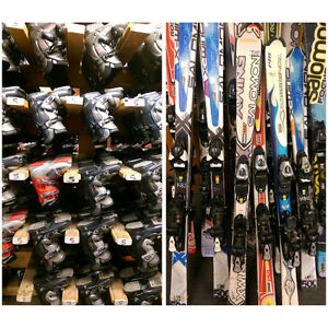 Ski Martock-Used Rental Ski Equipment For Sale