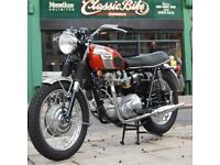 1969 Triumph T120R 650 Bonneville Classic Vintage Rare, The Ultimate Example,