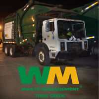 Residential Recycling Driver Non-Experienced Drivers - 17016453