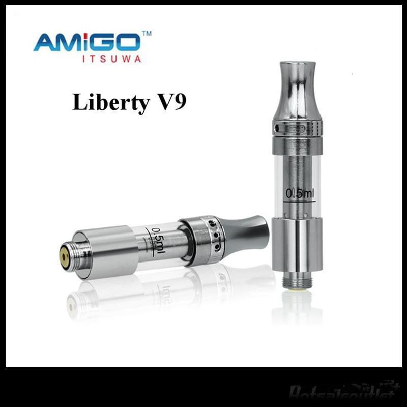 Amigo Liberty Ceramic Coil Wickless Vape CE3 Cartridge Tank 20 PACK (V-9 .5 ml)