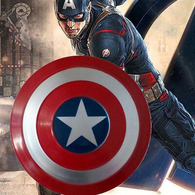 47.5cm/18.7'' Avengers Captain America Shield Strong Metal Cosplay Prop Gift - Child Captain America Shield