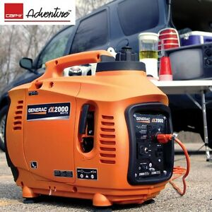 NEW - GENERAC iX 2000 watt Portable Inverter Generator