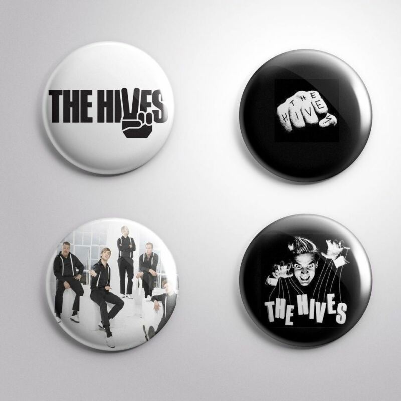 4 THE HIVES - Pinbacks Badge Button Pin 25mm 1