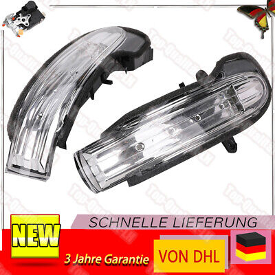 2X Spiegelblinker Blinker Blinkleuchte L+R Für Mercedes C-Klasse W203 S203 CL203