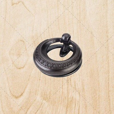 Cabinet Hardware Pendant Pulls ku976 Black Antique 2