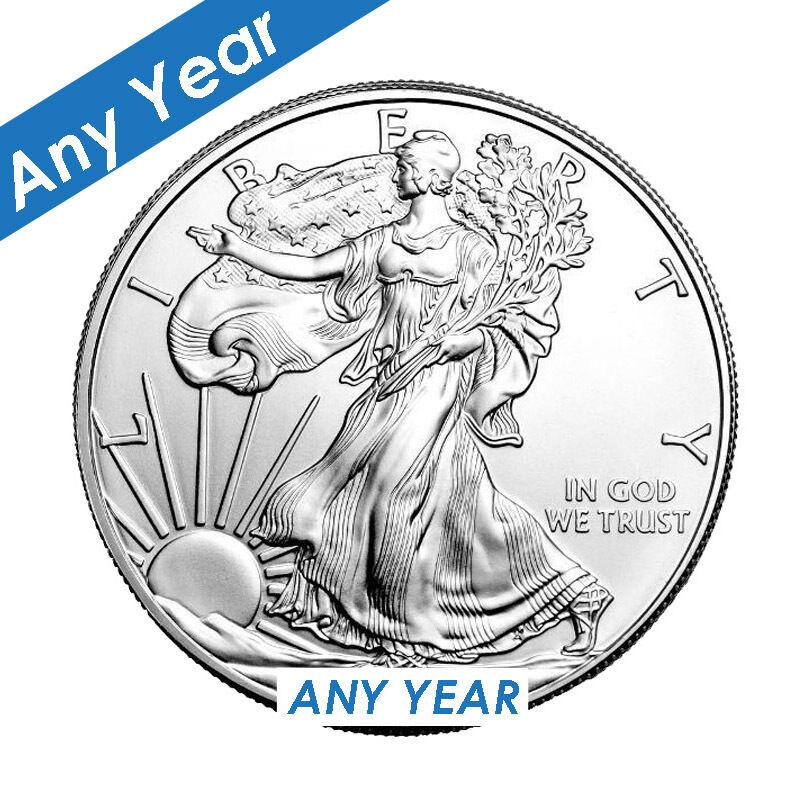 Купить US Mint - Silver American Eagle 1 oz. .999 fine silver American Eagles 1oz Coin
