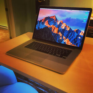 "MacBook Pro 15"" Retina 2.5GHz i7 + NVIDIA 750m, 512Go SSD, 16Gb West Island Greater Montréal image 1"