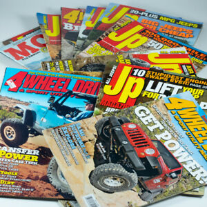 14 Jeep Offroad 4x4 Magazine Back Issues CLEAN HOME