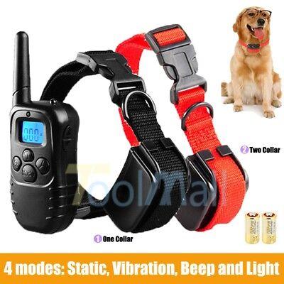 Shock Collar for Small/Medium Dogs + FREE Training Remote - 4 Modes Dog Training