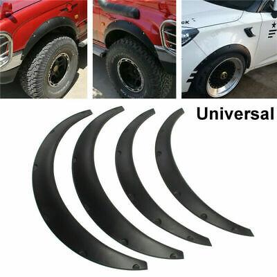 4Pcs Universal JDM Fender Wheel Arches Flare Extension Flares Wide Polyurethane